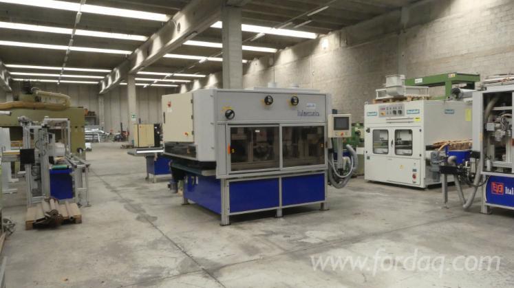 Used-Italmeccanica-4TB-1600--Brushing-Machine