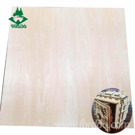 Laser-Cut-Birch-Basswood-Plywood