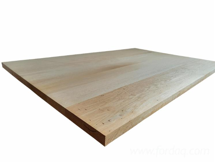 Oak-Tabletop-Made-From-Reclaimed-Wood-for
