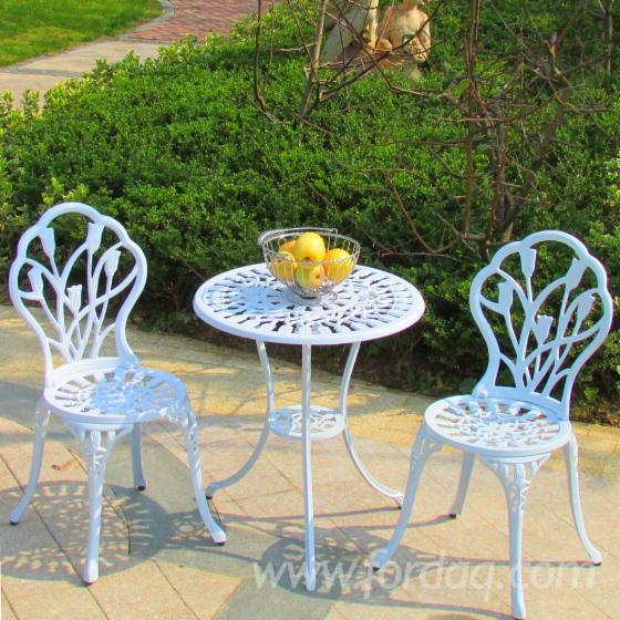Black--Bronze-Cast-Aluminium-Garden-Sets-for