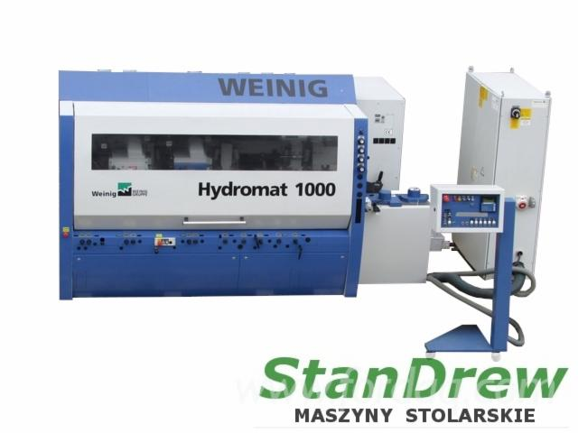 Used-Weinig-Hydromat-1000-2007-Moulding-Machines-for-Three--And-Four-side