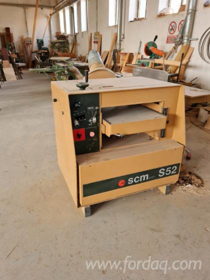 Vender-Plaina-De-Espessura---1-Lado-SCM-S52-Usada-1980