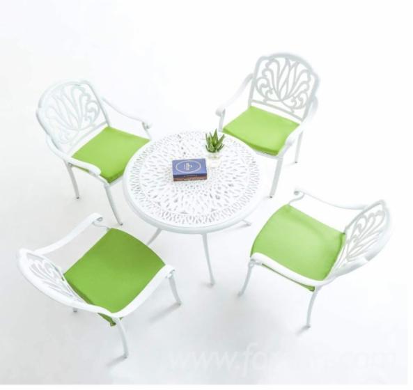 5-Piece-Outdoor-Cast-Aluminum-Patio-Dining-Set-with