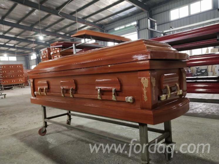 High-Gloss-Funeral-Paulownia-Coffins-With-Glass