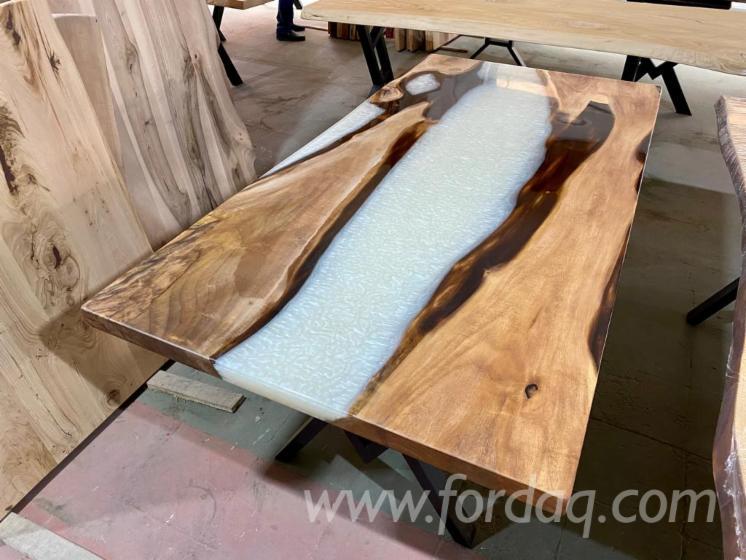 Vendo-Tavoli-Da-Pranzo-Design-Latifoglie-Europee-Rovere