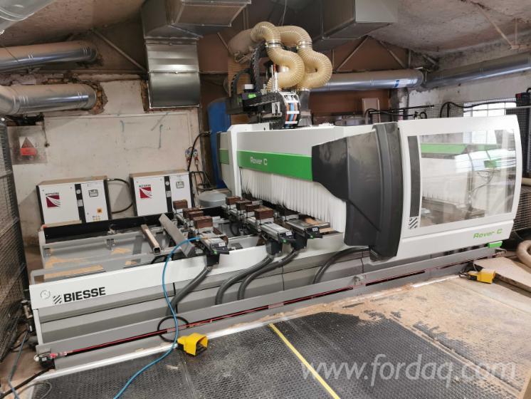 CNC-Machining-Center-Biesse-Rover-C6-40-Polovna