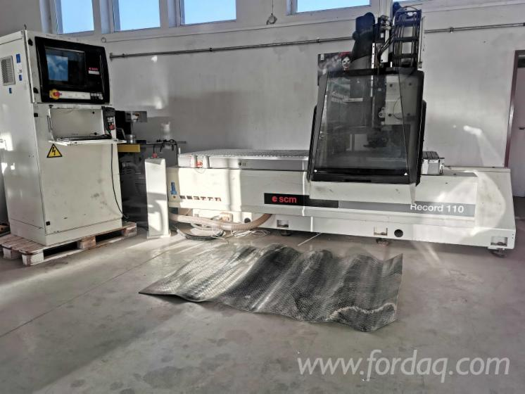 Used-SCM-Record-110-3-axis-CNC-Milling-Centre