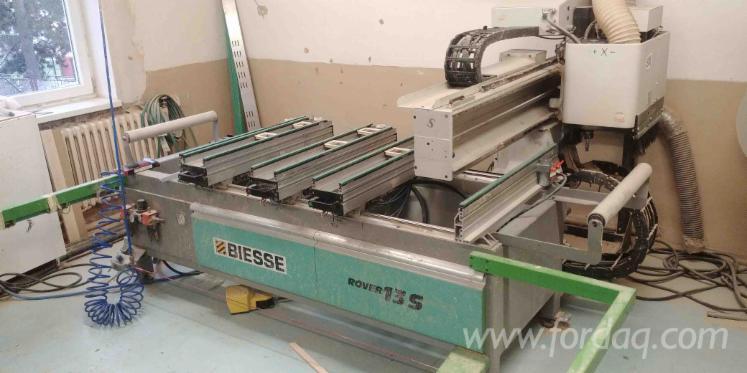 Vender-Centro-De-Usinagem-CNC-Biesse-Rover-13S-Usada-1997