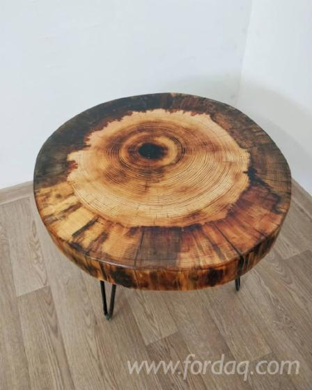 Vend-Tables-Design-R%C3%A9sineux-Europ%C3%A9ens-Pin-%28Pinus-Sylvestris%29---Bois
