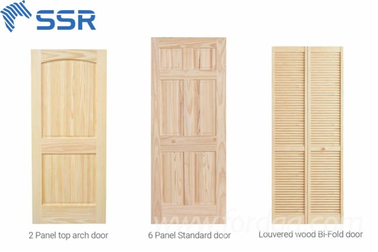 Europejskie-Drewno-Iglaste--Drzwi--Drewno-Lite