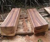null - Saman Square Logs, 35 cm Diameter