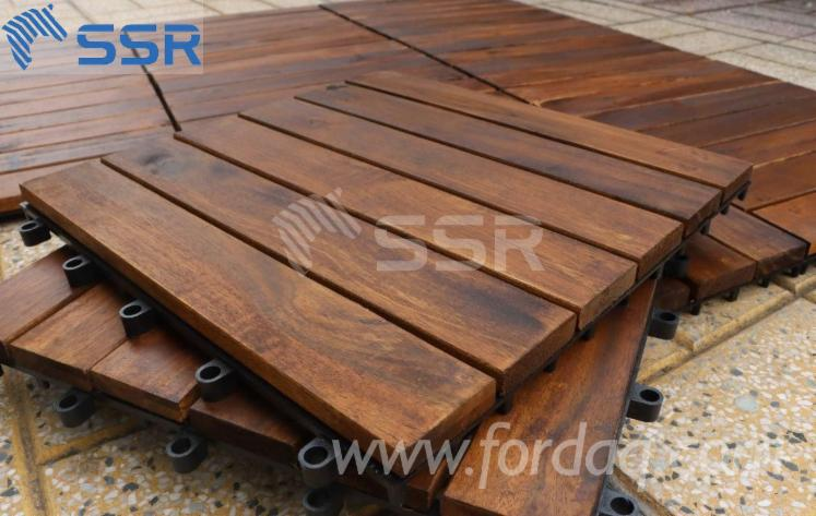 High-Quality-Acacia-Garden-Decking-Floor-Tiles-with