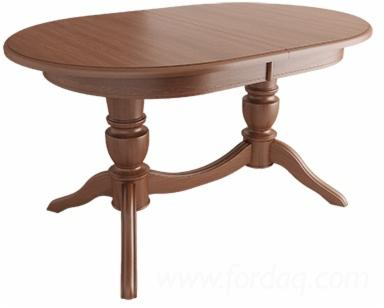 Betty-Table-with-Oval-MDF-Table-Top-for
