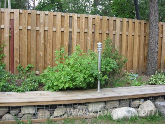 Impregnated-Nordic-Pine-Boards-for-Fence