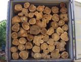 null - Balsamo/ Palissander/ Teak Industrial Logs, 0.88-1.25 cm