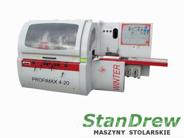 Vender-M%C3%A1quinas-De-Moldagem-Para-Usinagem-De-Tr%C3%AAs-E-Quatro-Lados-WINTER-PROFIMAX-4-20-Usada-2009