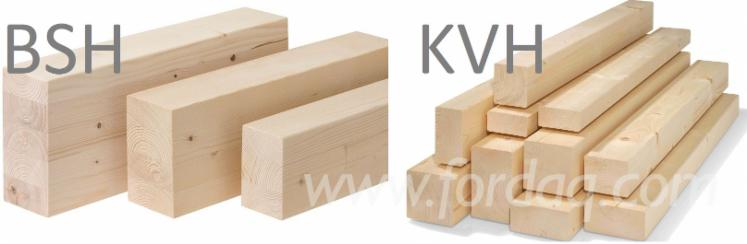 Spruce-BSH-KVH-Timber-Required