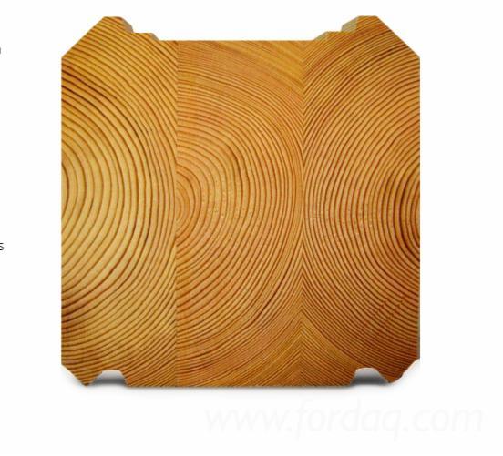 Glue-Spruce-Square-Logs
