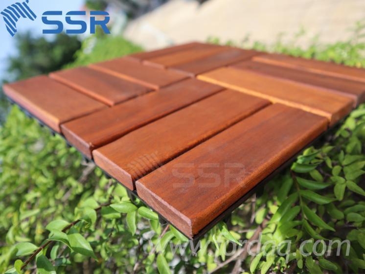 Acacia-Deck-Tiles--12-Slats--Interlocking-Garden