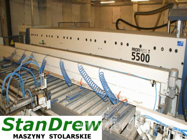 Used-Weinig-Dimter-Profipress-5500-High-Frequency-Gluing-Press