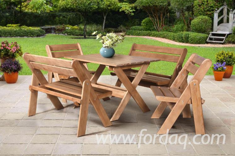 Vend-Ensemble-De-Jardin-Traditionnel-R%C3%A9sineux-Europ%C3%A9ens-Pin-%28Pinus-Sylvestris%29---Bois-Rouge