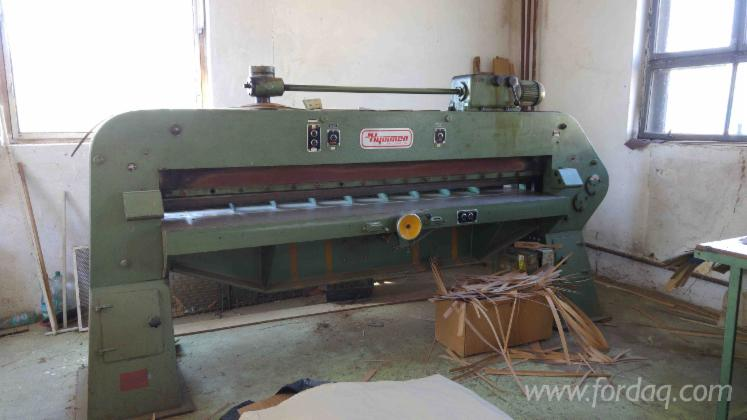 Used-Veneer-Cutting-Guillotine-2600-mm-Hymmen