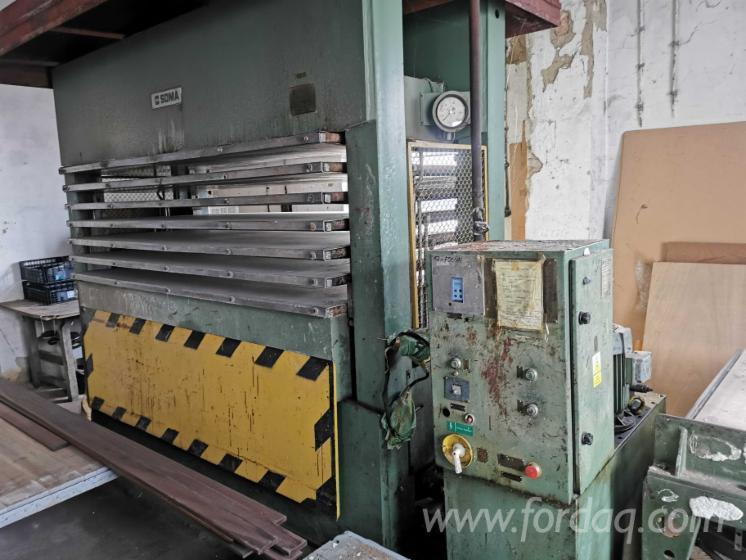 Used-SOMA-OHWA-290-6-Area-Press