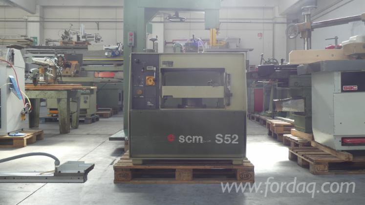 Used-SCM-Thickness-Planer