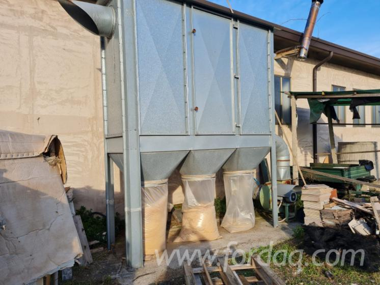 Used-Filtro-3-Sacchi-2000-Dust-Extraction-Facility-For-Sale