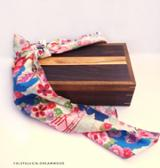 null - Traditional Lunch Box/Bento, Exotic Teak/Indonesian Rosewood