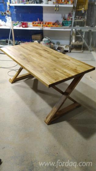 Vend-Table-De-Salle-%C3%80-Manger-Art---Crafts-Mission-Feuillus-Europ%C3%A9ens