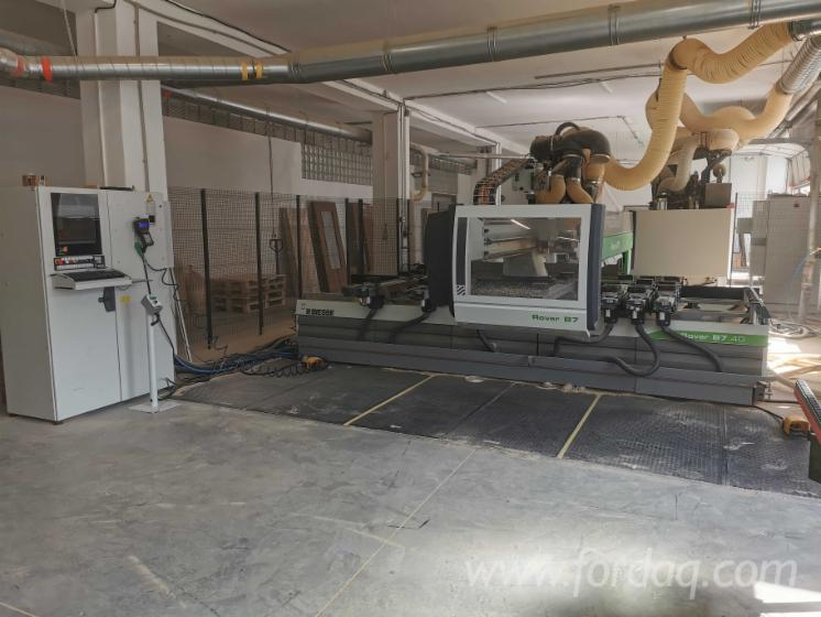 Vindem-CNC-Centru-De-Prelucrare-Biesse-Rover-B7-40-Second-Hand