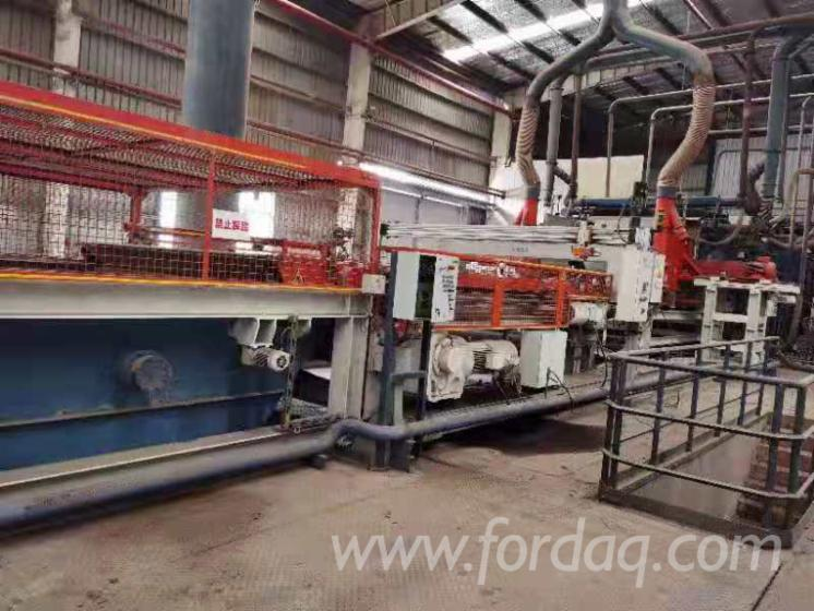 Used-MDF-Continous-Press-Line