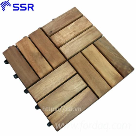 Acacia-Wood-Decking-Tiles-For-Outdoor-Flooring--Wood-Flooring--Garden-Pavement-
