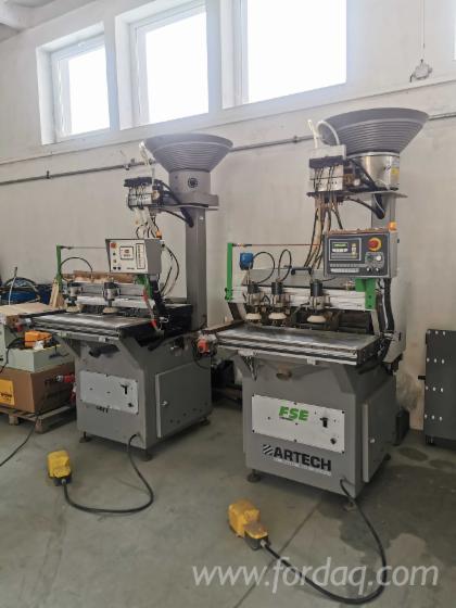 Dubelbohrmaschine-mit-Dubeleinsatz-Biesse-Artech-Polymac