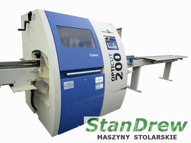 Used-Weinig-Dimter-Opticut-200-Classic-2004-Optimizing-Saw-For-Sale