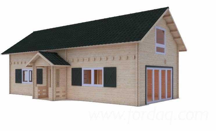 Vierkantblockhaus