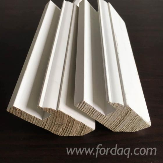 Massivholz--Paulownia--T%C3%BCrpfosten--Querst%C3%BCcke