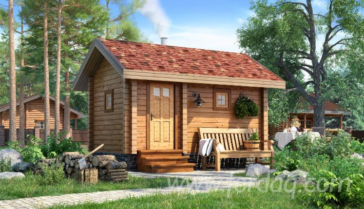 Sauna--Sosna-Zwyczajna---Redwood