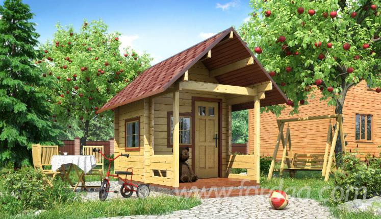Domek-Dla-Dzieci--Sosna-Zwyczajna---Redwood