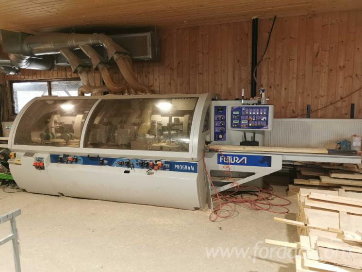 Used-6-1-Spindle-Heavy-Duty-Fourside-Moulder-FUTURA-PRG