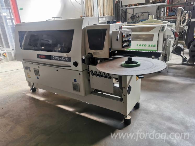 Vend-Machines-%C3%80-Plaquer-Sur-Chant-SCM-Olimpic-K203-Occasion