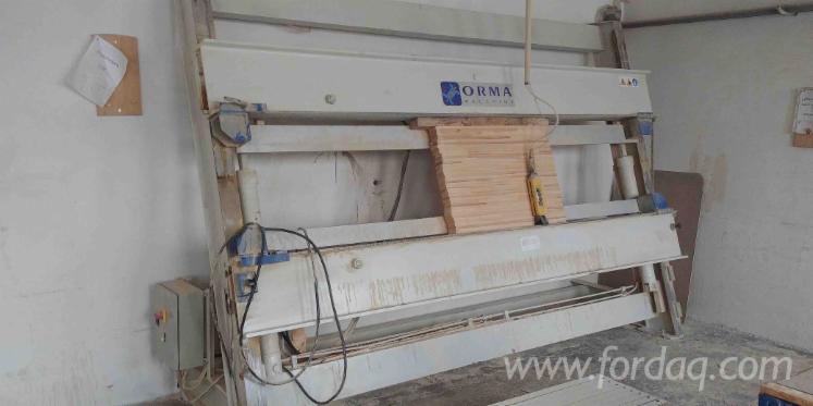 Vindem-Prese-Pentru-Lemn-Lamelar-ORMA-Futura-Eco-30-17-Second-Hand
