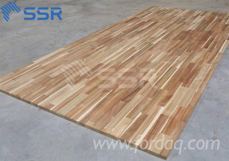 Acacia-Finger-Joint-Laminated-Panels--Wood-Boards
