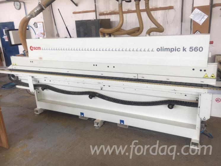 Vend-Machines-%C3%80-Plaquer-Sur-Chant-SCM-Olimpic-K560-Occasion