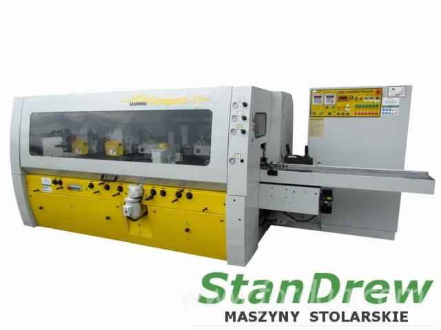 Selling-Used-Four-Side-Planer-LEADERMAC-Compact