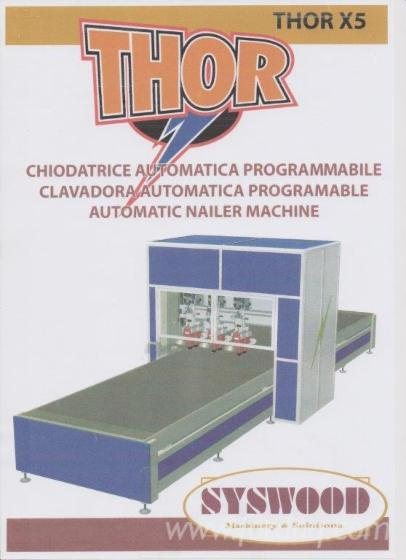 Used-Syswood-THOR-X5-2011-Nailing