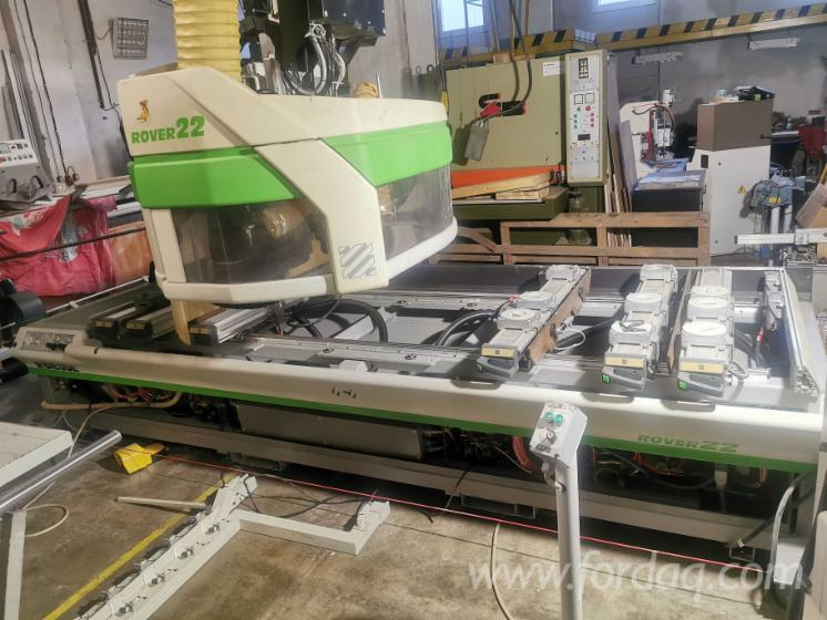 Vender-Centro-De-Usinagem-CNC-Biesse-Rover-22-Usada-2001