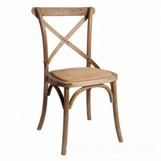 Cross-Back-Chair---Bentwood