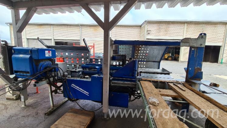 Binderberger-Spaltautomat-SSG-750-inkl--Hydraulikaggregat---Hakki-Pilke-hydr--Zuf%C3%BChrtisch-Woodran